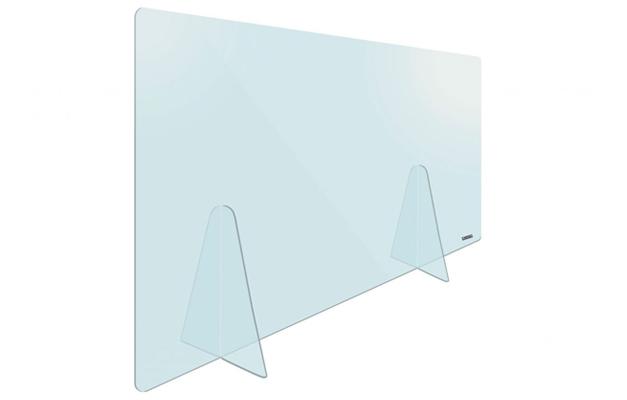 Plexiglas Tafelscherm 65 x 100 cm